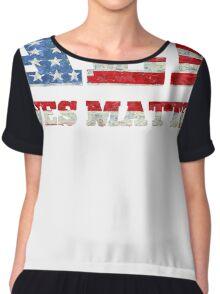 All Lives Matter T-shirt  Chiffon Top