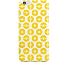Poke-Dots Yellow iPhone Case/Skin