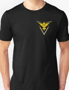 Pokemon Go | Team Instinct | Black Background | Small | New! | High Quality! Unisex T-Shirt