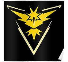 Pokemon Go | Team Instinct | Black Background | Small | New! | High Quality! Poster