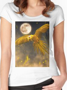 Realistic Pokemon - Zapdos Women's Fitted Scoop T-Shirt