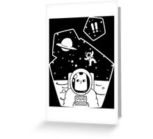 explore in space Greeting Card