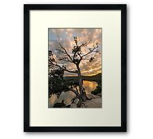 Sunset at 360 Bridge Overlook Framed Print