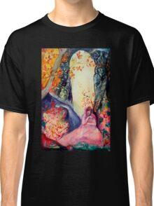 GOLDEN DREAM / Yoga Meditation Zen Garden Classic T-Shirt
