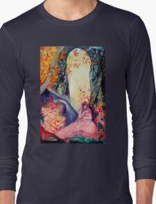 GOLDEN DREAM / Yoga Meditation Zen Garden Long Sleeve T-Shirt