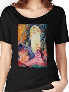 GOLDEN DREAM / Yoga Meditation Zen Garden Women's Relaxed Fit T-Shirt