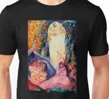 GOLDEN DREAM / Yoga Meditation Zen Garden Unisex T-Shirt