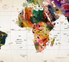 map Sticker
