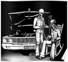 Dead men Rockin' Poster