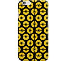 Poke-Dots Bee 1 iPhone Case/Skin