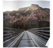 Alpine Bridge, Austria Poster