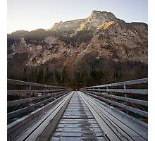Alpine Bridge, Austria Photographic Print
