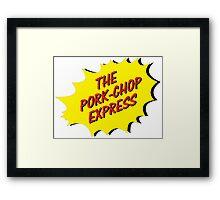 THe Porck-Chop Express Logo Framed Print