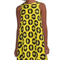 Poke-Dots Bee 2 A-Line Dress