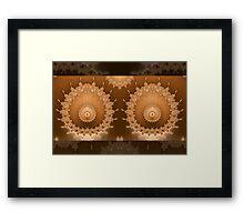 Encircled Breasts Framed Print