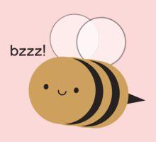 Kawaii Buzzy Bumble Bee One Piece - Long Sleeve