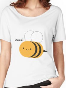 Kawaii Buzzy Bumble Bee Women's Relaxed Fit T-Shirt