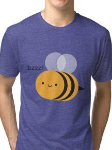 Kawaii Buzzy Bumble Bee Tri-blend T-Shirt