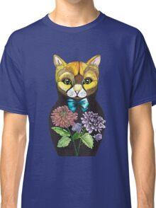 Dahlia, Tattoo style Russian doll cat Classic T-Shirt