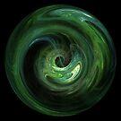 Emerald Vortex by Deborah Lee Soltesz