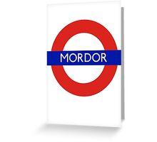 Fandom Tube- MORDOR Greeting Card