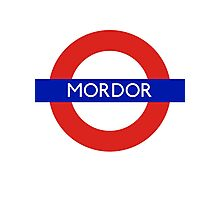 Fandom Tube- MORDOR Photographic Print