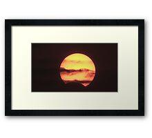Eclipse. Framed Print