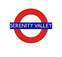 Fandom Tube- SERENITY VALLEY Photographic Print