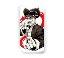 MASTER IRON HANDS Samsung Galaxy Case/Skin