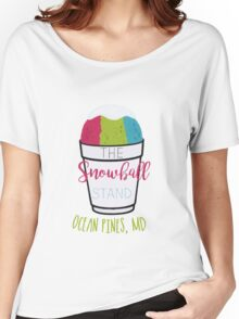 The Snow Ball Stand  Women's Relaxed Fit T-Shirt