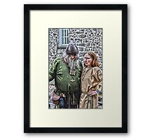 Irish celts  Framed Print