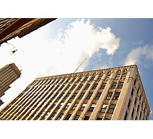 Building On Madison In Memphis,Tn Photographic Print