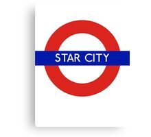 Fandom Tube- STAR CITY Canvas Print