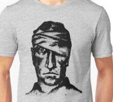 Hurt Man Portrait Unisex T-Shirt