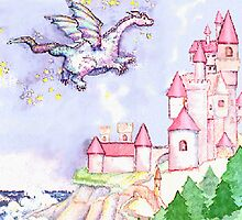 Fairytale Dragon Castle  by Sutteyo