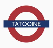 Fandom Tube- TATOOINE Kids Tee