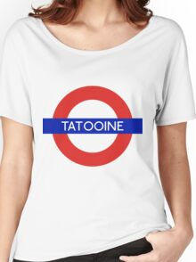 Fandom Tube- TATOOINE Women's Relaxed Fit T-Shirt