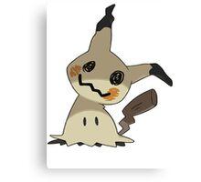 Pokemon Mimikyu Pikachu Disguise Canvas Print