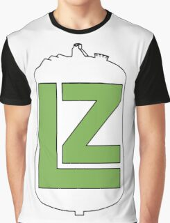 The LZ Collaboration Logo Graphic T-Shirt
