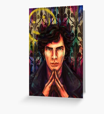 Sherlock: Mind Palace Greeting Card