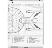 USS Enterprise (NCC-1701) iPad Case/Skin