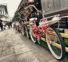 South Wharf Cycles by JimmyAmerica