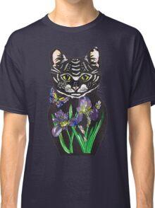 Iris, tattoo style cat head russian doll Classic T-Shirt