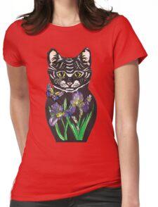 Iris, tattoo style cat head russian doll T-Shirt