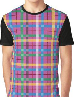 Love Retro Plaid Graphic T-Shirt
