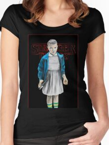 Stranger Things - Eleven Women's Fitted Scoop T-Shirt