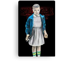 Stranger Things - Eleven Canvas Print