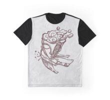Abstract man jumping Graphic T-Shirt