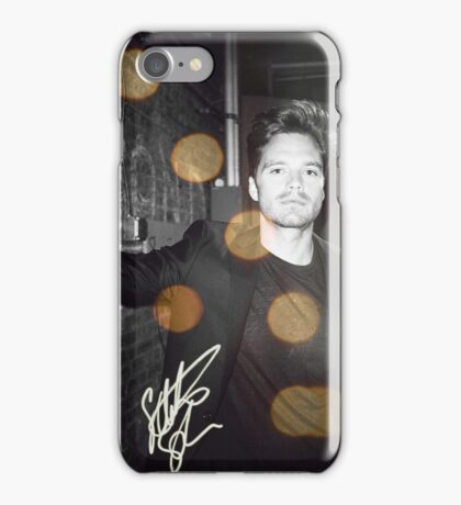 autograph. - sebastian stan iPhone Case/Skin