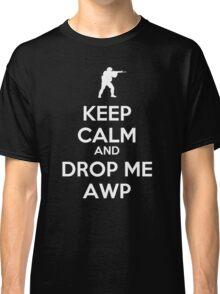 Counter Strike keep calm awp Classic T-Shirt